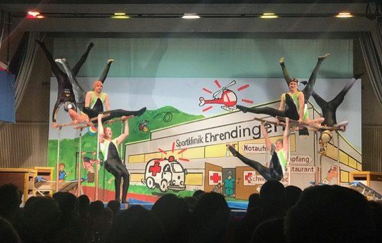 Ehrendingen ist stolz auf seine Sportklinik! Turnshow 2018 mit Videos!